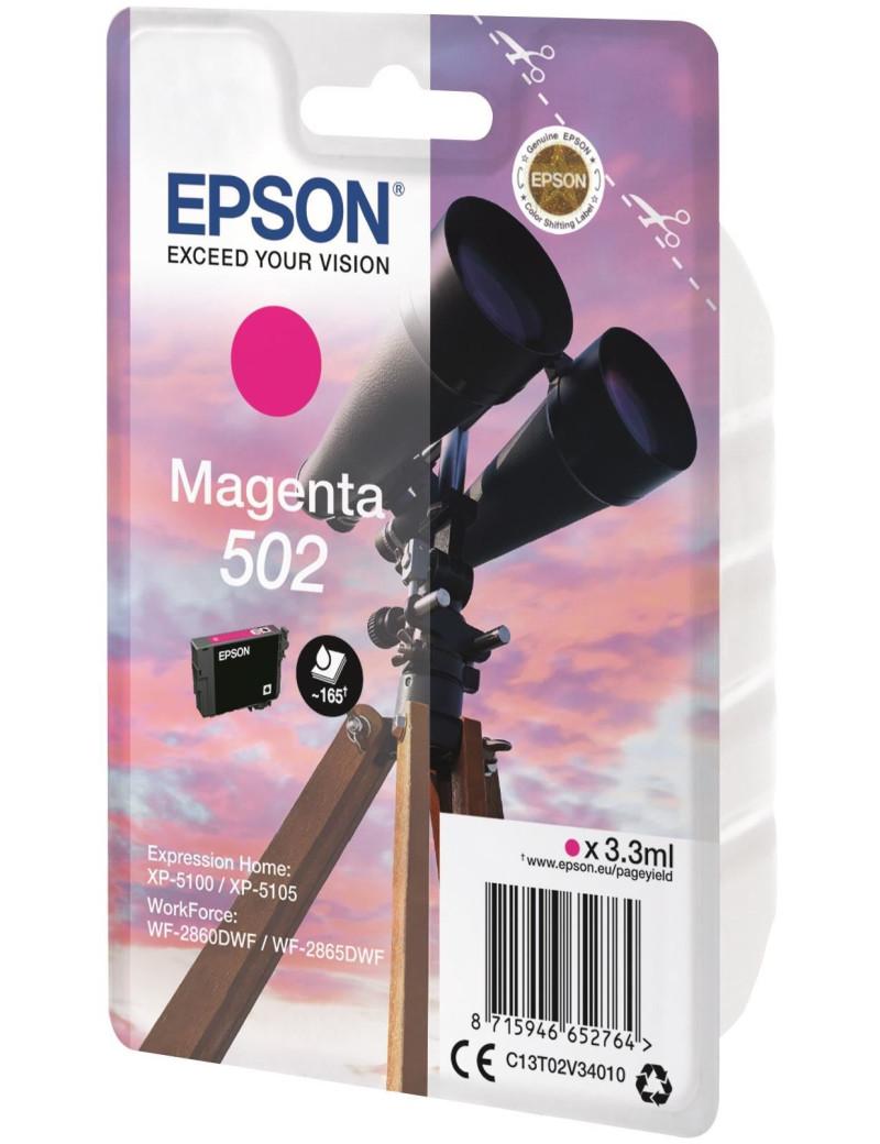Cartuccia Originale Epson T02V340 502 (Magenta 165 pagine)