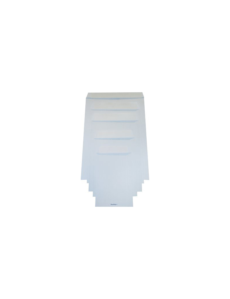 Busta a Sacco Pigna - con Strip - 16x23 cm - 80 g (Bianco Conf. 100)