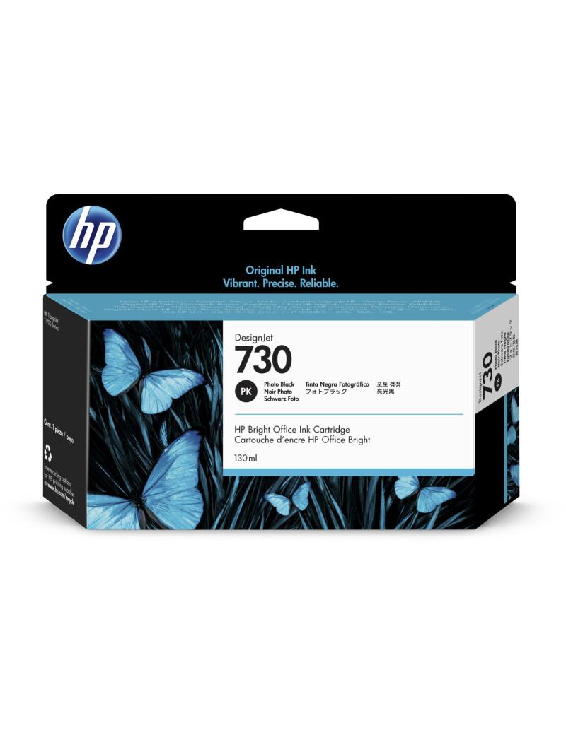 Cartuccia Originale HP P2V67A 730 (Nero Foto 130 ml)