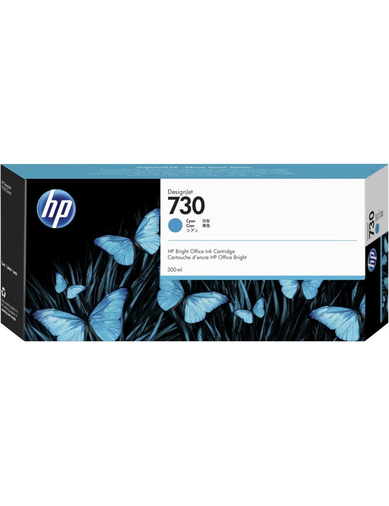 Cartuccia Originale HP P2V68A 730 (Ciano 300 ml)