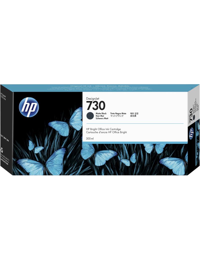 Cartuccia Originale HP P2V71A 730 (Nero Opaco 300 ml)