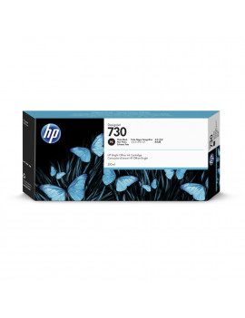Cartuccia Originale HP P2V73A 730 (Nero Foto 300 ml)