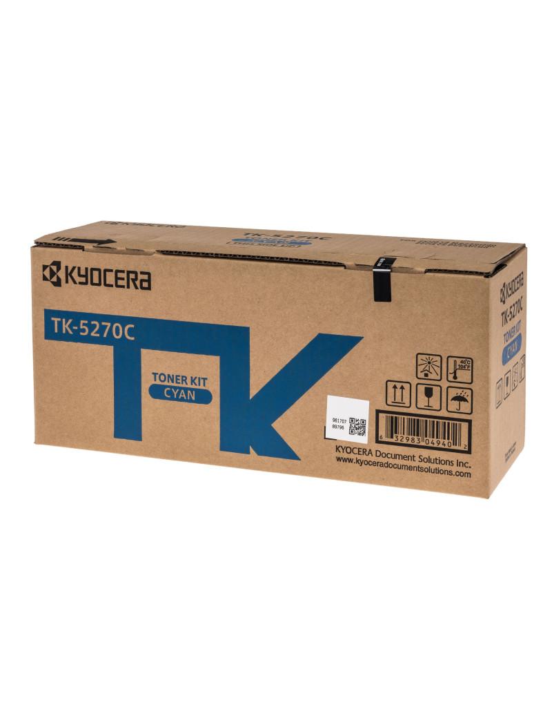 Toner Originale Kyocera TK-5270C 1T02TVCNL0 (Ciano 6000 pagine)