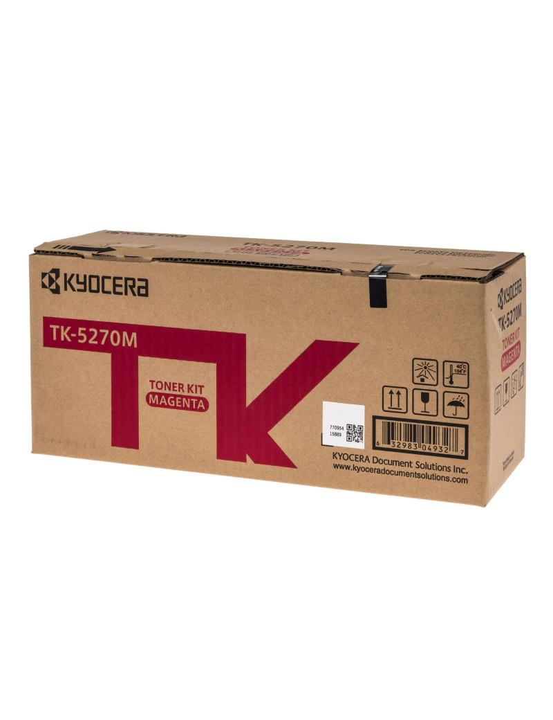 Toner Originale Kyocera TK-5270M 1T02TVBNL0 (Magenta 6000 pagine)