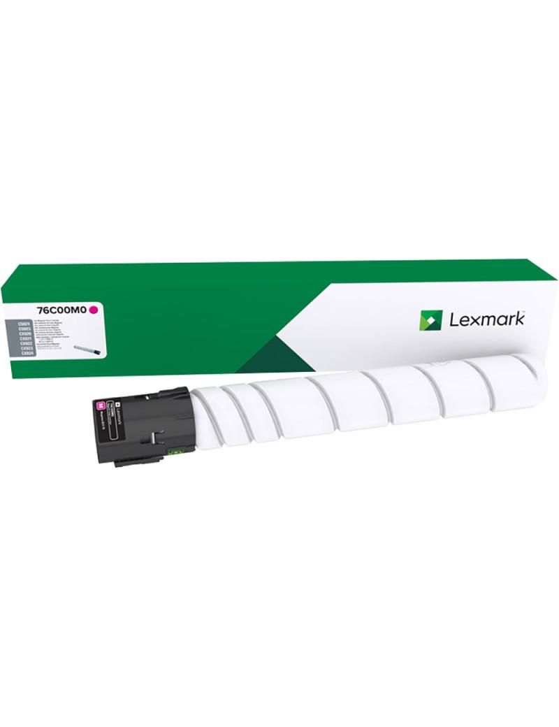 Toner Originale Lexmark 76C00M0 (Magenta 11500 pagine)