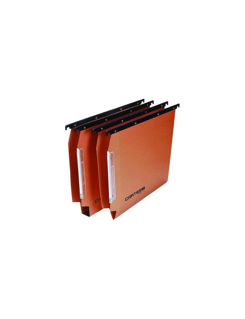 Cartelle Sospese Linea Cartesio Bertesi - Armadio - 33 cm - U3 - 114 F Beta 3 (Arancio Conf. 50)