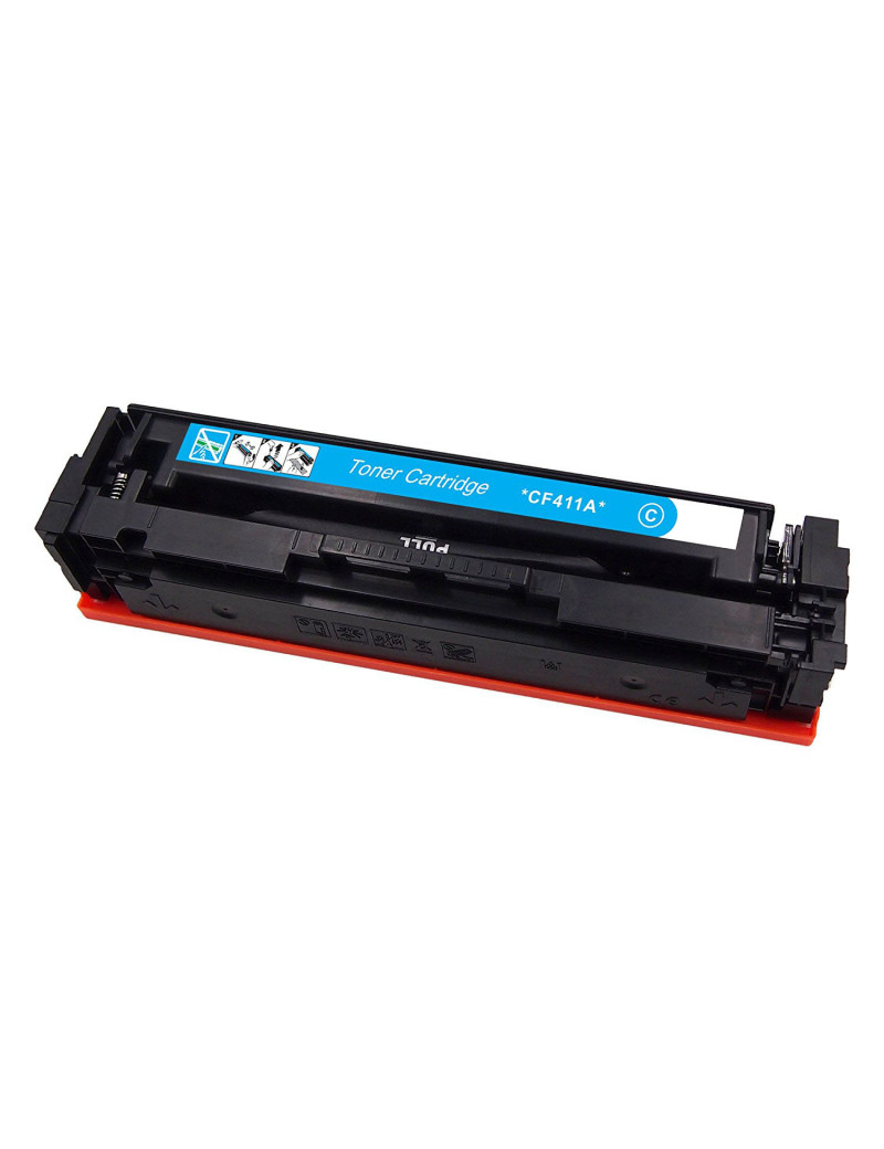 Toner Compatibile HP CF411A 410A (Ciano 2300 pagine)
