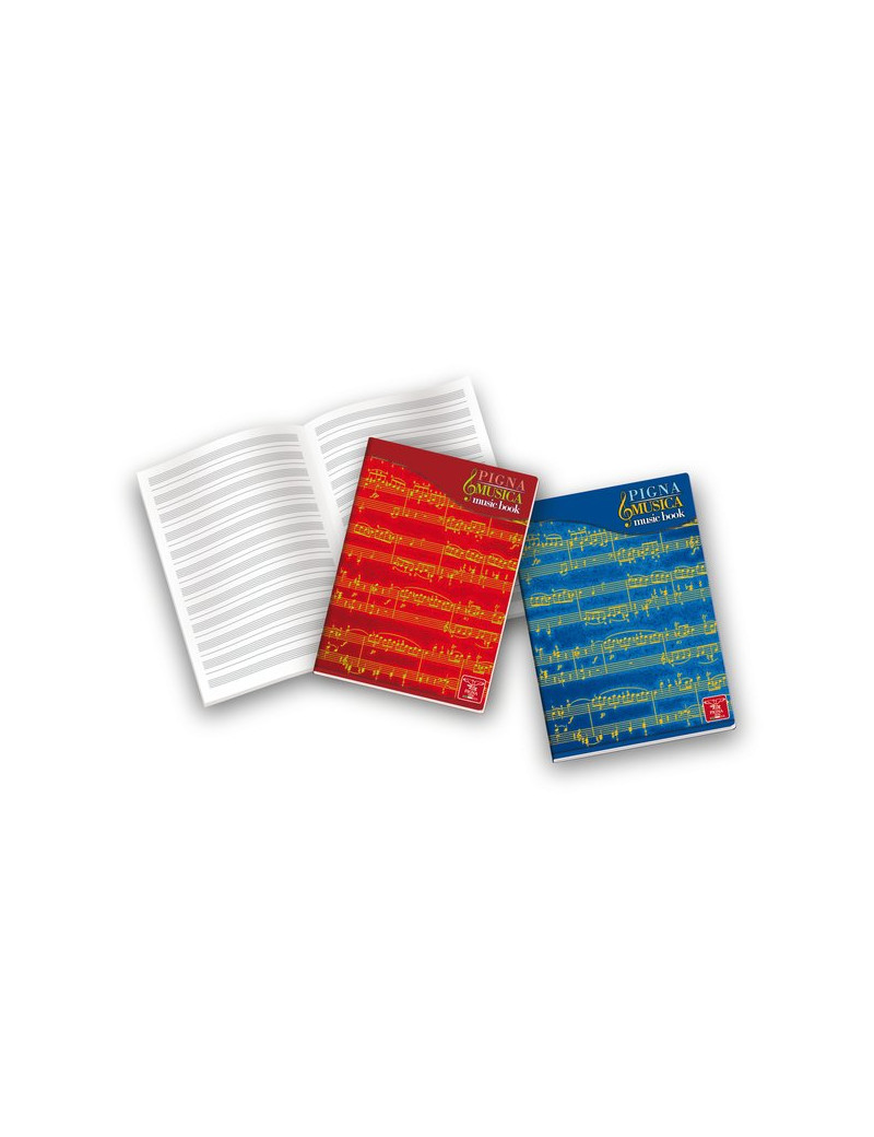Album Pentagrammi Musicali Pigna - 21x29,7 cm - 0408197 (Conf. 10)
