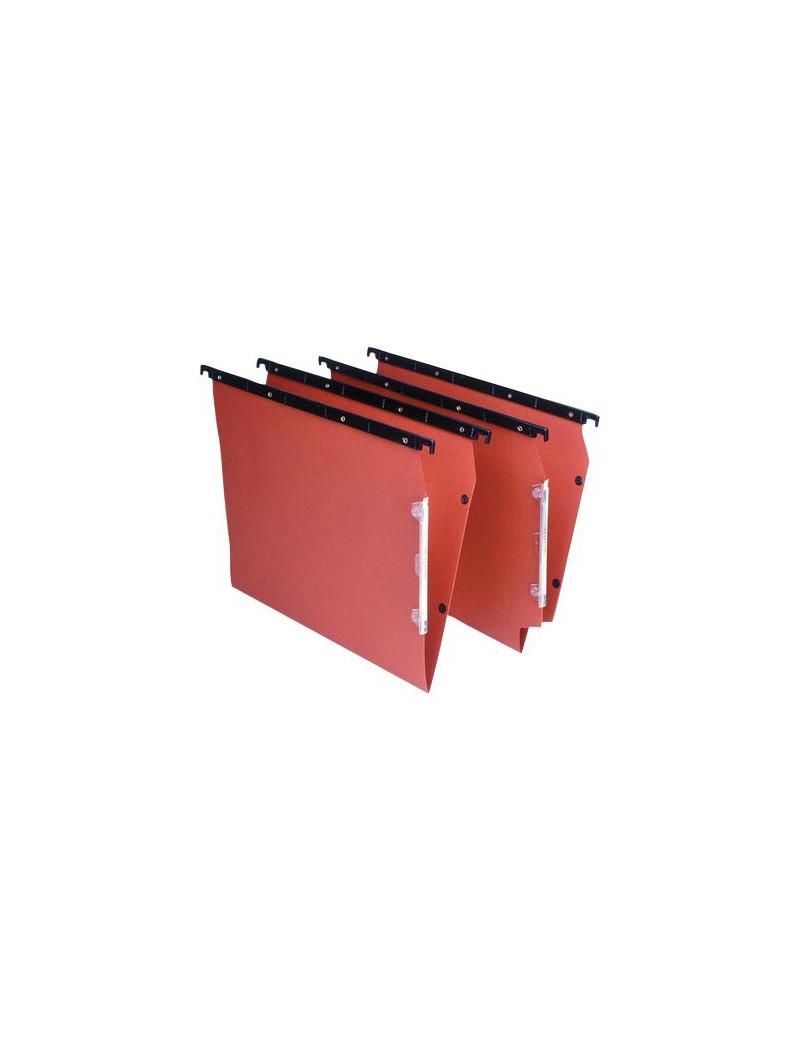 Cartelle Sospese Linea Cartesio Plus Bertesi - Armadio - 33 cm - V (Arancio Conf. 25)