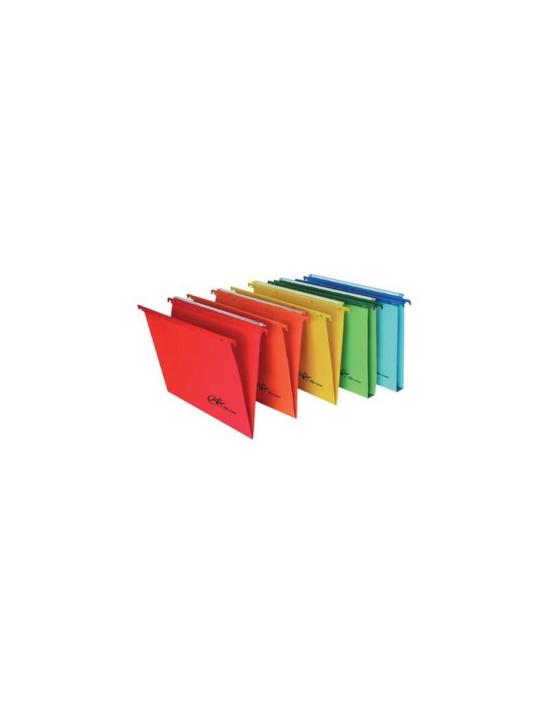 Cartelle Sospese Linea Joker Bertesi - Cassetto - Interasse 39÷39,8 cm - V (Rosso Conf. 25)
