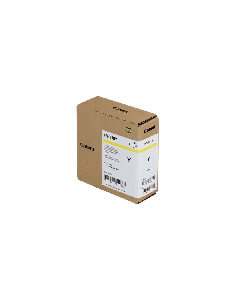 Cartuccia Originale Canon PFI-310y 2362C001 (Giallo 330 ml)
