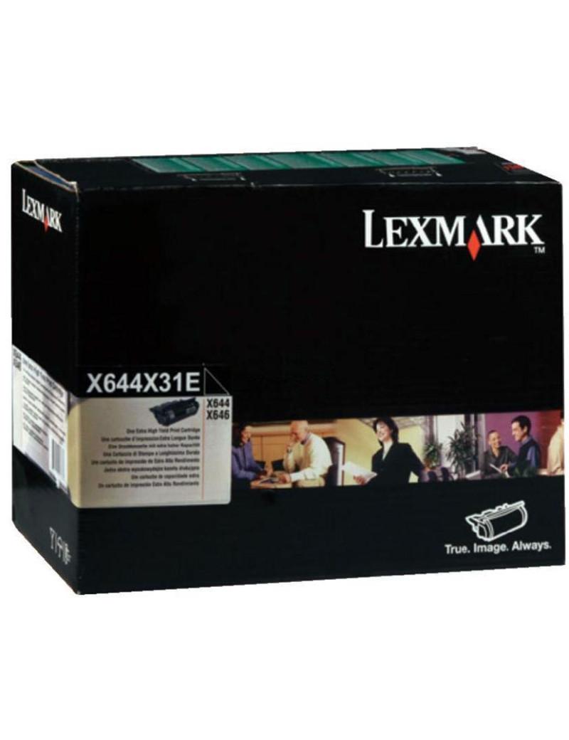 Toner Originale Lexmark X644X31E (Nero 32000 pagine)