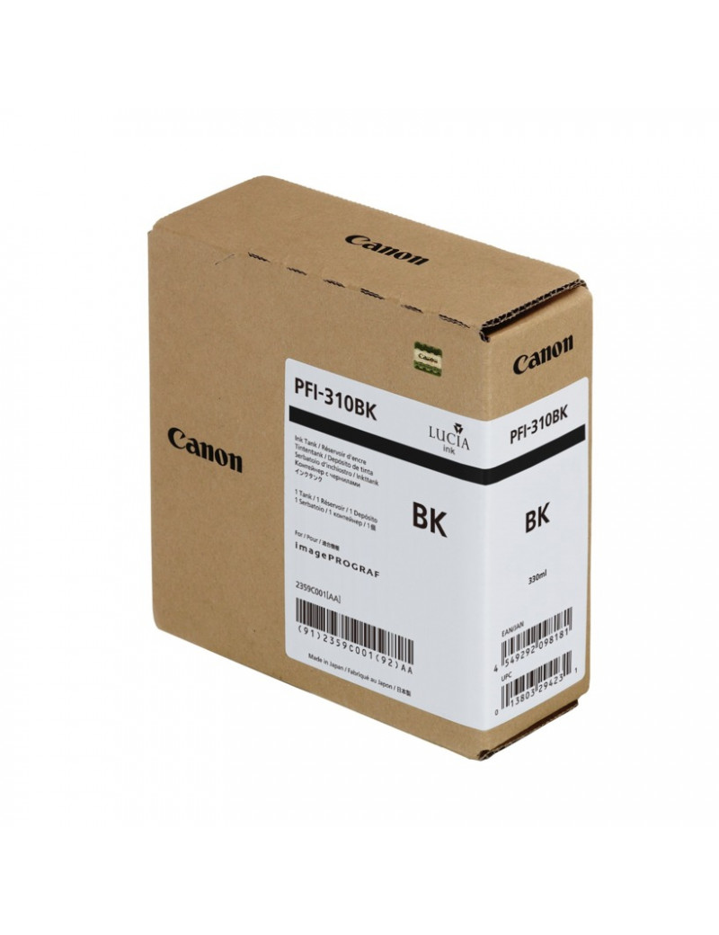 Cartuccia Originale Canon PFI-310bk 2359C001 (Nero 330 ml)