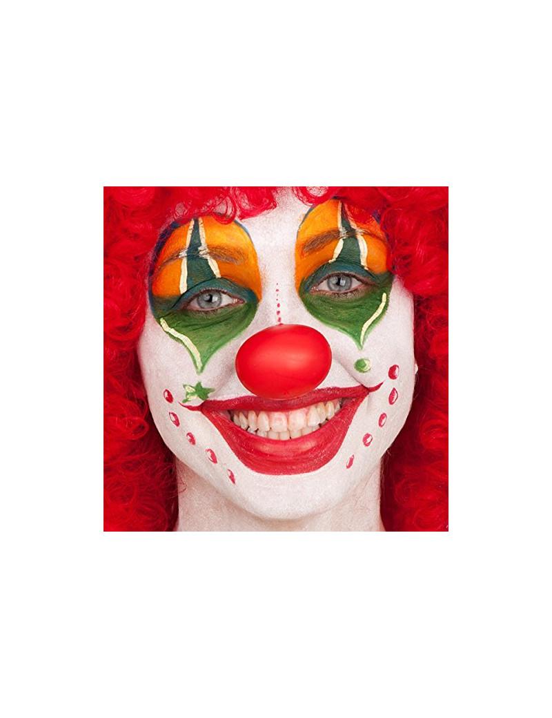 Naso da Clown in Plastica Morbida (Rosso)