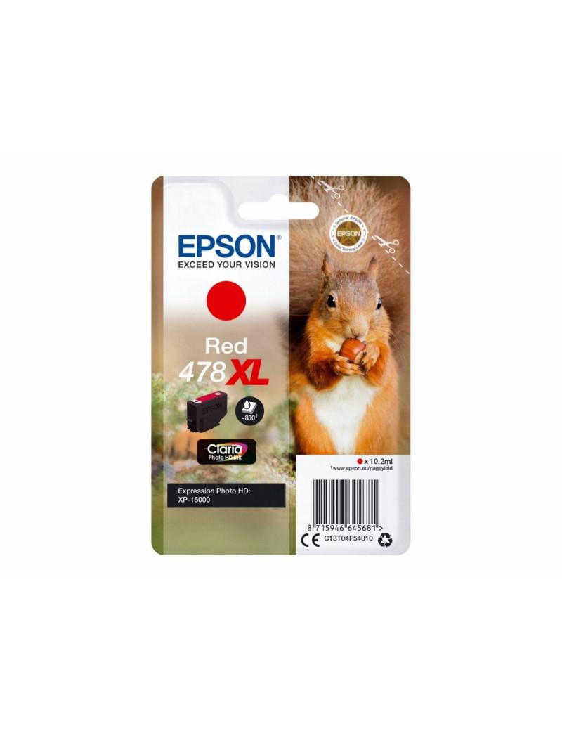 Cartuccia Originale Epson T04F540 478XL (Rosso 830 pagine)