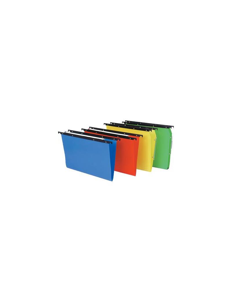 Cartelle Sospese Cartesio in Polipropilene Bertesi - Cassetto - Interasse 39÷39,8 cm - V - 500/395-A7 (Assortiti Conf. 10)