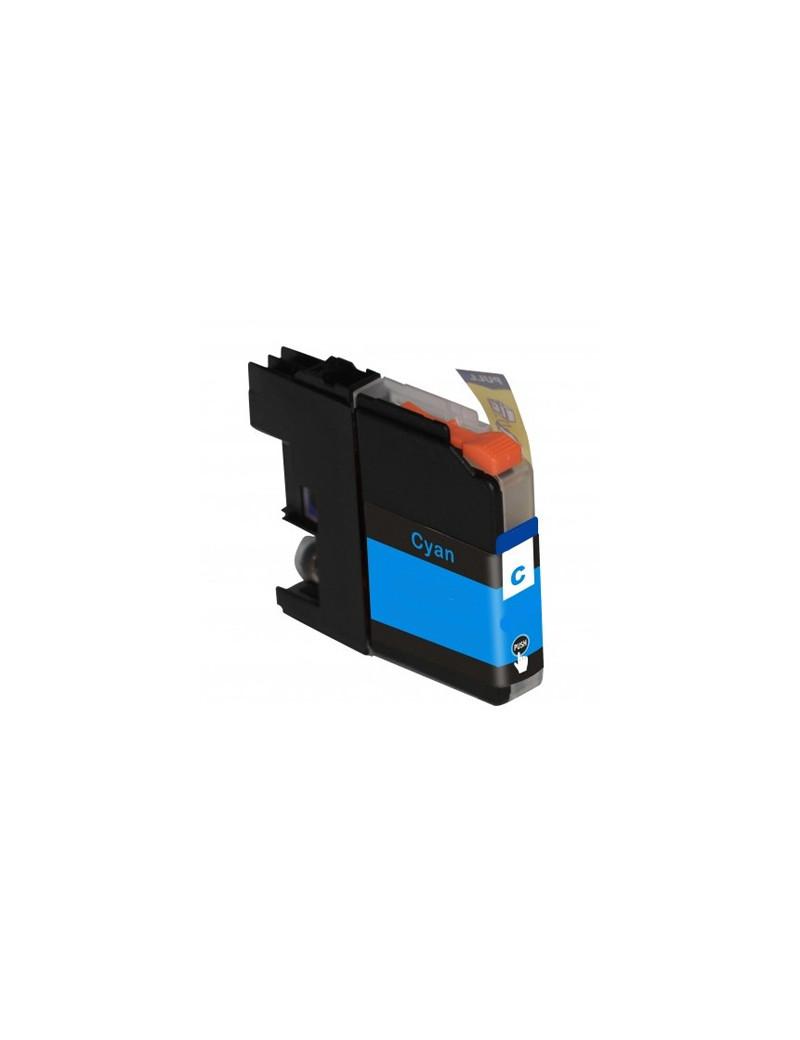Cartuccia Compatibile Brother LC-125XLC LC125XLC (Ciano 1200 pagine)