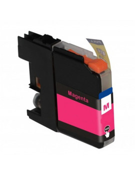 Cartuccia Compatibile Brother LC-125XLM LC125XLM (Magenta 1200 pagine)