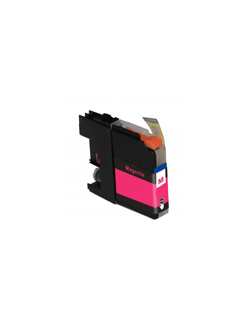 Cartuccia Compatibile Brother LC-125XLM LC125XLM (Magenta 1200 pagine)