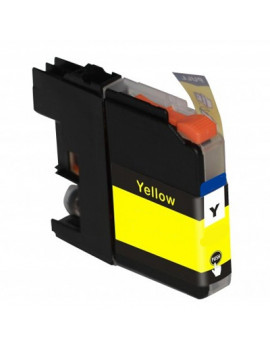 Cartuccia Compatibile Brother LC-125XLY LC125XLY (Giallo 1200 pagine)
