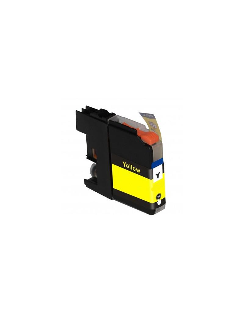Cartuccia Compatibile Brother LC-125XLY LC125XLY (Giallo 1200 pagine)