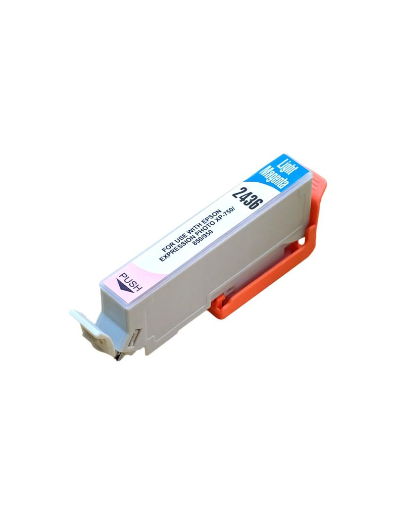 Cartuccia Compatibile Epson T243640 24XL (Magenta Chiaro XL 740 pagine)