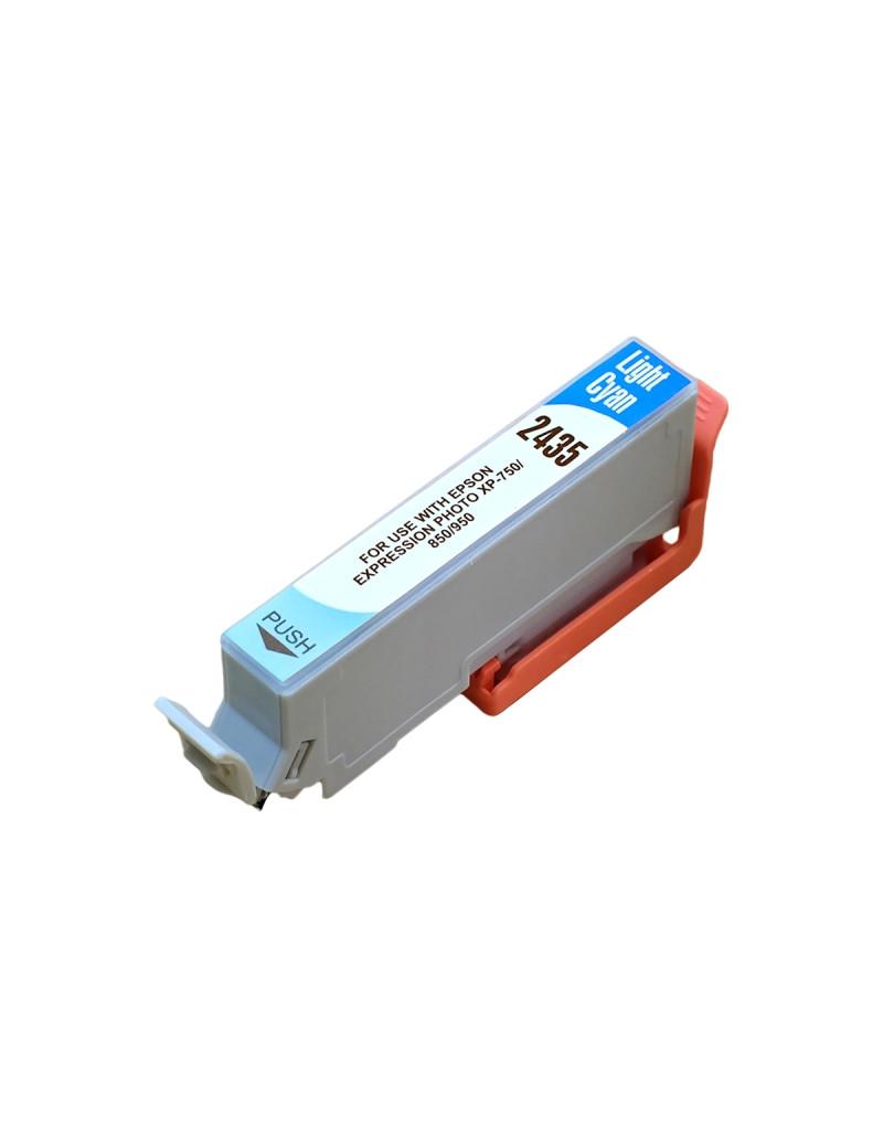 Cartuccia Compatibile Epson T243540 24XL (Ciano Chiaro XL 740 pagine)
