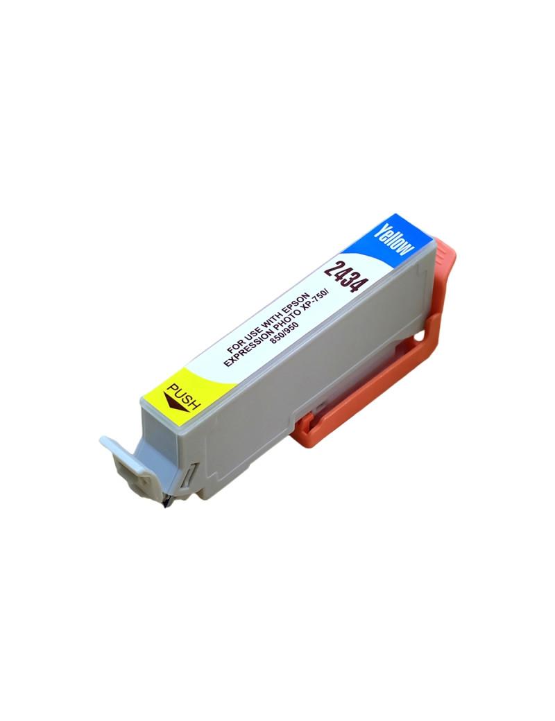 Cartuccia Compatibile Epson T243440 24XL (Giallo XL 740 pagine)