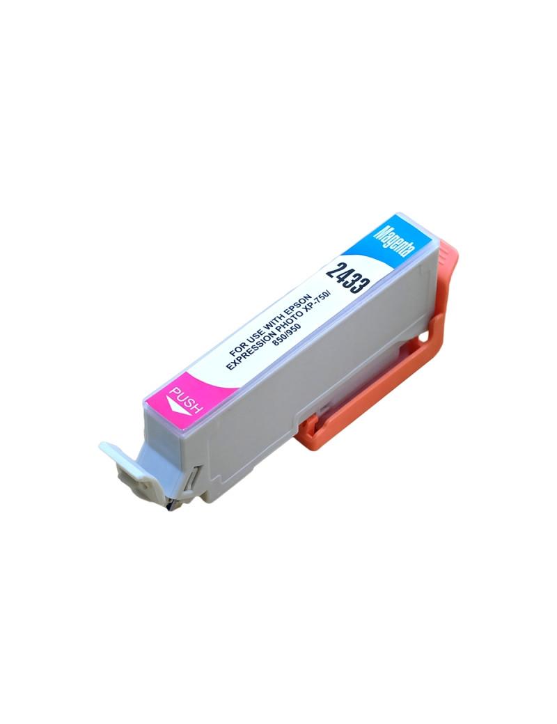 Cartuccia Compatibile Epson T243340 24XL (Magenta XL 740 pagine)