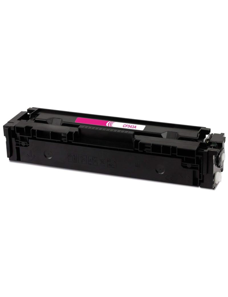 Toner Compatibile HP CF543A 203A (Magenta 1300 pagine)