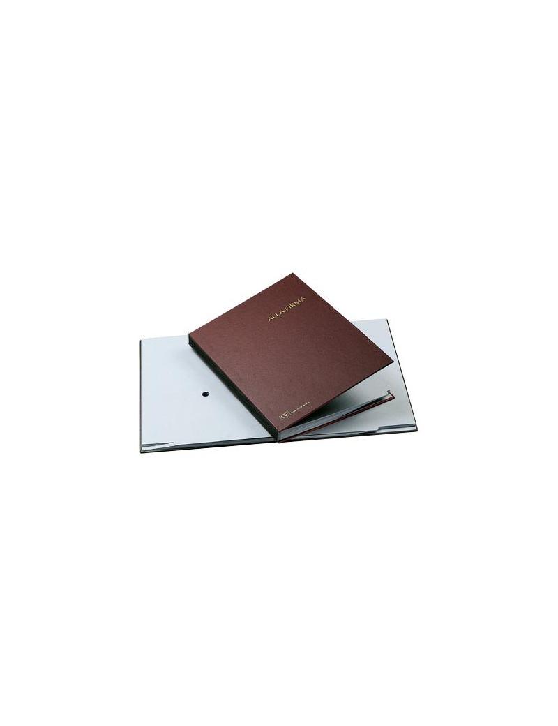 Libro Firma 14 Intercalari Fraschini - 24x34 cm - 614A-ROSSO (Rosso)
