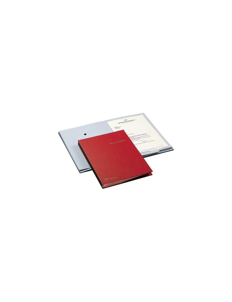 Libro Firma 18 Intercalari Fraschini - 24x34 cm - 618A-BLU (Blu)