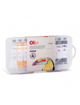 Colori a Olio Primo Morocolor - 18 ml - 425TO10P (Assortiti Conf. 10)