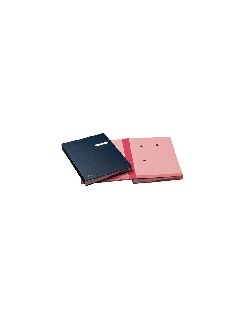 Libro Firma 18 Intercalari Fraschini - Rinforzato (Rosso)