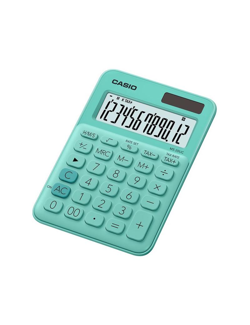 Calcolatrice da Tavolo Casio MS-20UC-GN (Verde)