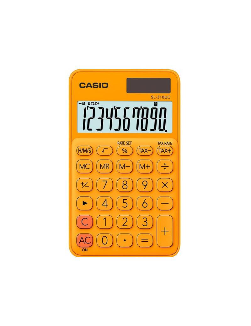 Calcolatrice Tascabile Casio SL-310UC-RG (Arancione)