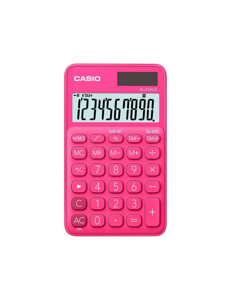 Calcolatrice Tascabile Casio SL-310UC-RD (Rosso)