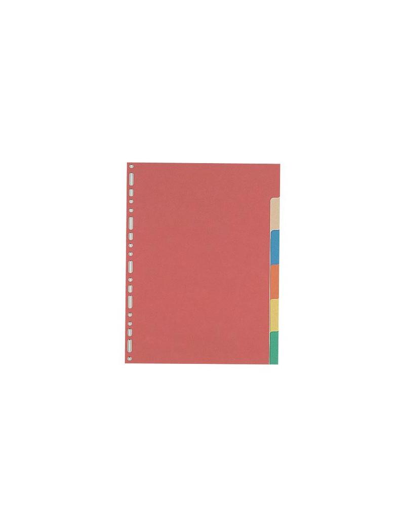 Divisiorio Neutro Cartoncino Favorit - 6 Tasti - 100204883 (Assortiti)