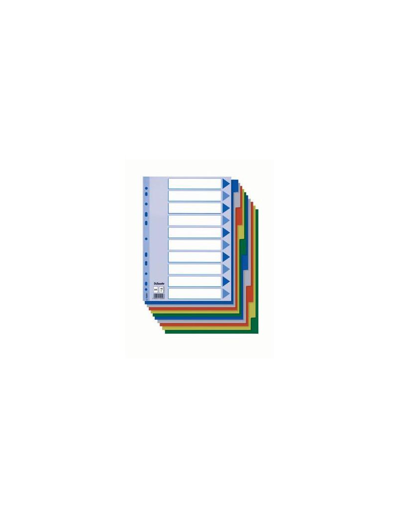 Intercalare Neutro in PPL Esselte - A4 - 12 Tasti - 152620 (Multicolore)