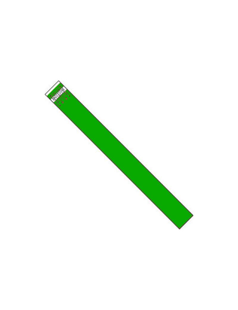 Braccialetti di Identificazione in Tyvek (Verde Conf. 1000)