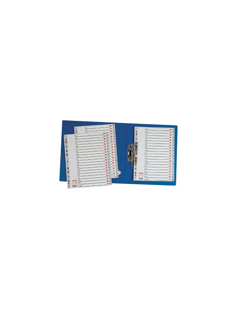Rubrica Alfabetica in PPL A-Z Esselte - 21x29,7 cm - 100112 (Grigio)