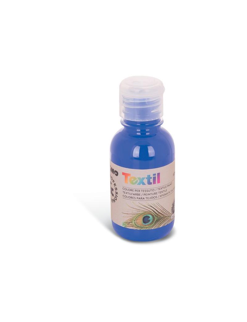 Colore ad Acqua per Tessuti Primo Morocolor - 125 ml - 410TX125500 (Blu Oltremare)