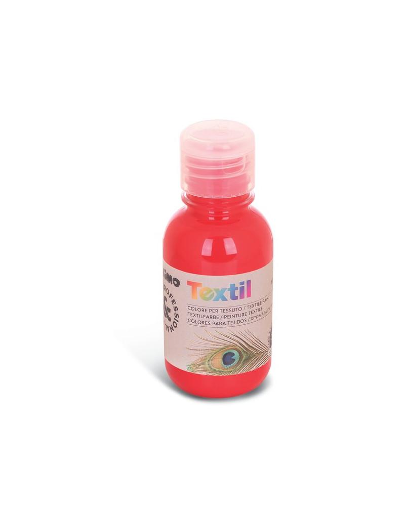 Colore ad Acqua per Tessuti Primo Morocolor - 125 ml - 410TX125300 (Rosso Vermiglio)