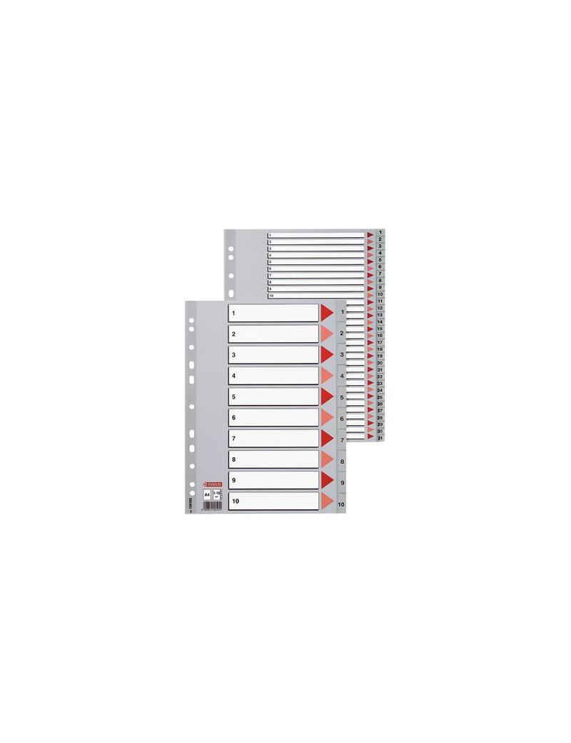Rubrica Numerica in PPL Esselte - A4 - 31 Tasti - 100108 (Grigio)