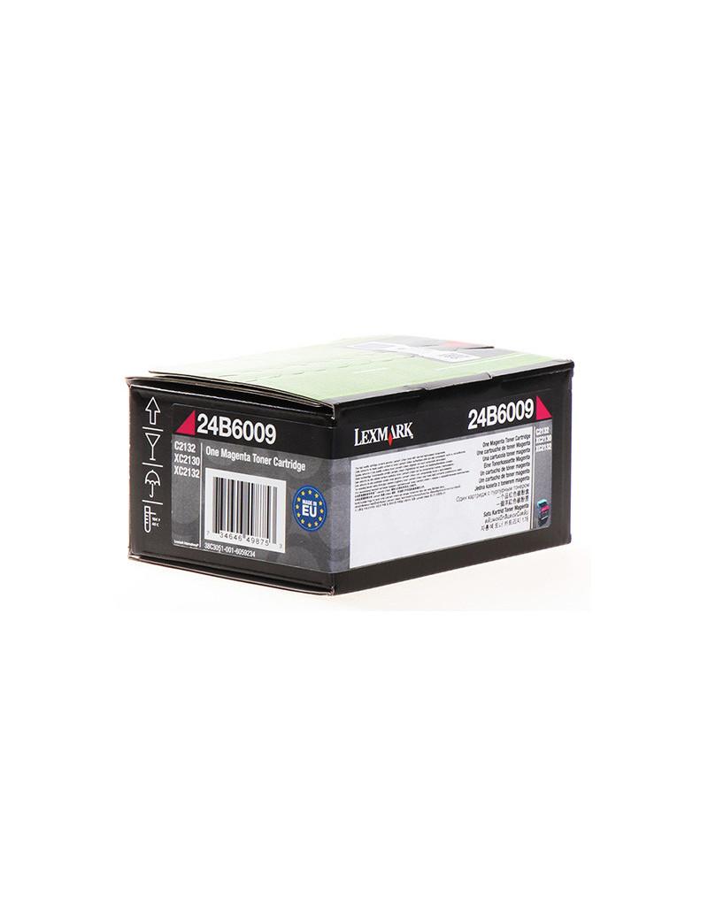 Toner Originale Lexmark 24B6009 (Magenta 3000 pagine)