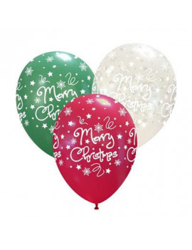 Palloncino Merry Christmas (Assortiti)