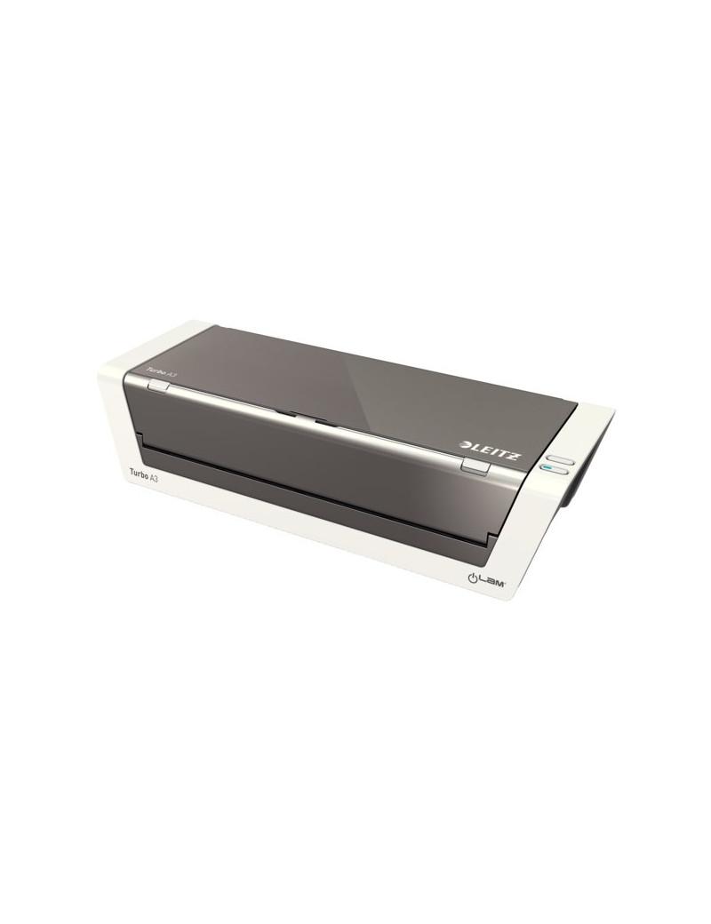 Plastificatrice a Caldo iLAM Touch Turbo2 Leitz - A3 (Argento)