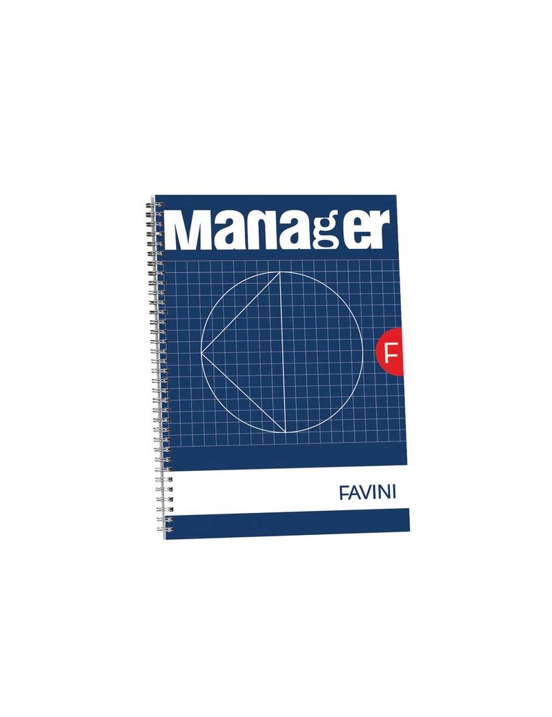 Blocco Spiralato Manager Favini - 23x29,7 cm - 10 mm - A293814