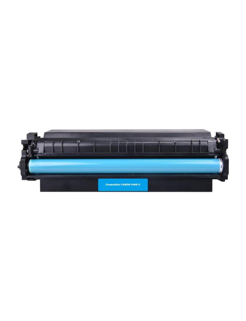 Toner Compatibile Canon 046hc 1253C002 (Ciano 5000 pagine)