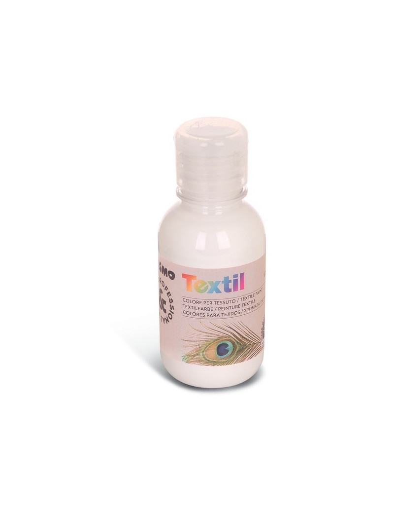 Colore ad Acqua per Tessuti Primo Morocolor - 125 ml - 410TX125100 (Bianco)